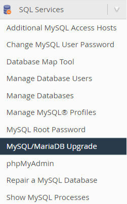 recover from failed mysql upgrade (5.6 to 5.7)